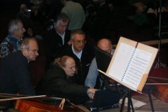 """2006 - Aggiustamenti """"prima della prima"""" de """"La Musica del Silenzio"""" a L'Aquila"""
