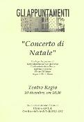2001 - Torino, Teatro Regio, Concerto Natalizio
