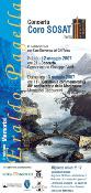 "2007 - Torino, Conservatorio ""G.Verdi"" , Memorial ""Eraldo Pagella"" con coro SOSAT"