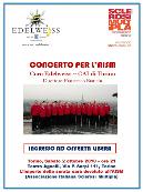 2010 - Torino, Teatro Agnelli, cocnerto benefico perAISM