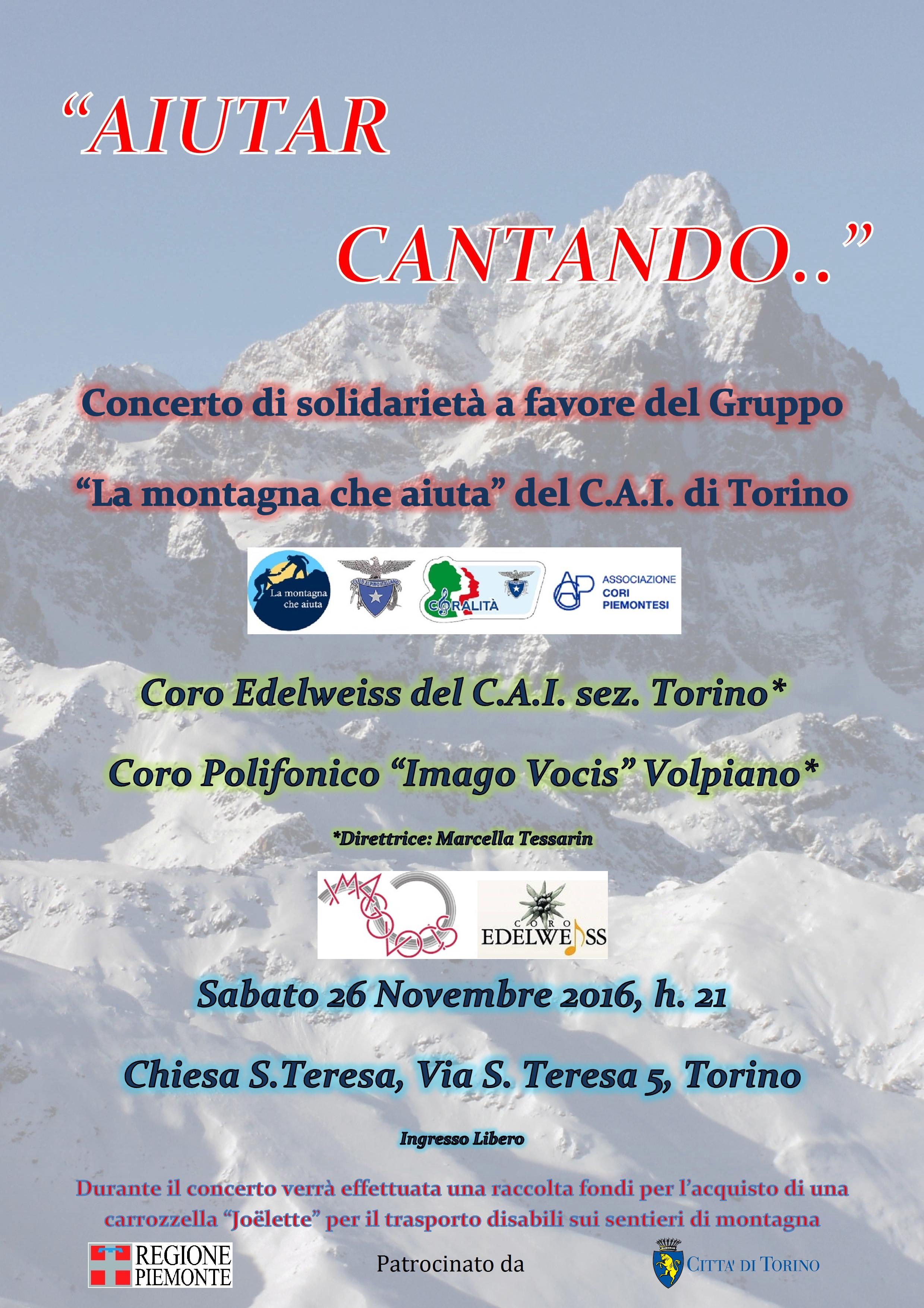 2016 - Torino, Aiutar Cantando